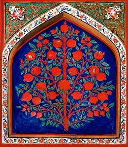 """""""Shaki Khan Palace Interier"""" by Urek Meniashvili"""