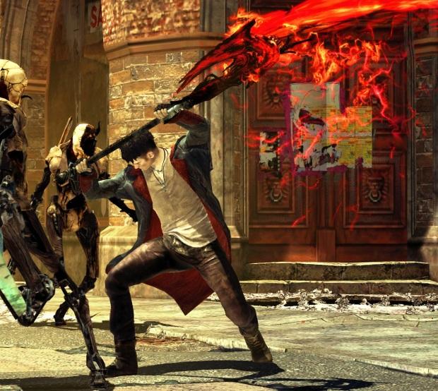 Dante swinging the Arbiter
