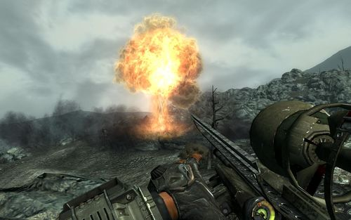 Must have seen a cockroach. (Image credit: Fallout Wiki)