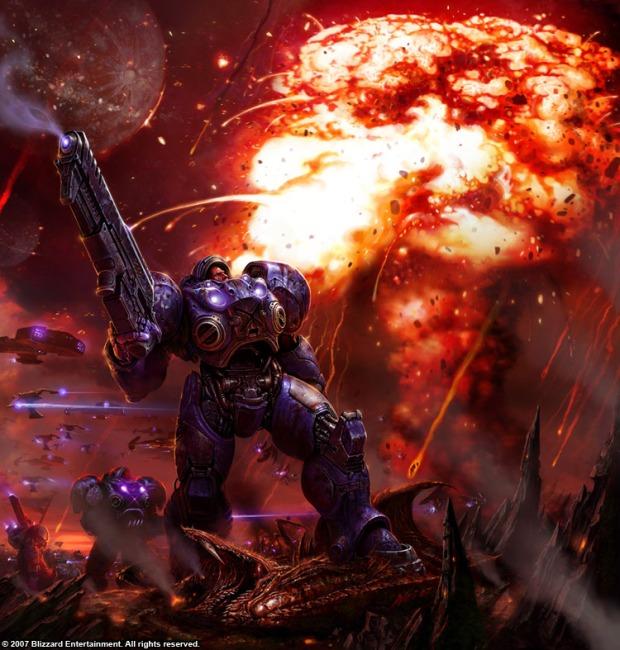 Nuclear Missile, StarCraft 2. (Image credit: Blizzard/StarCraft Wiki)
