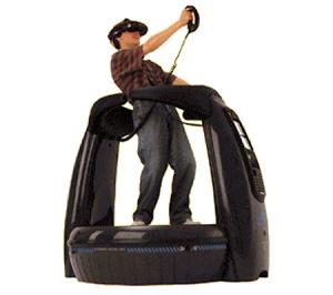 Virtuality's SU 2000 Virtual Reality Gaming Pod