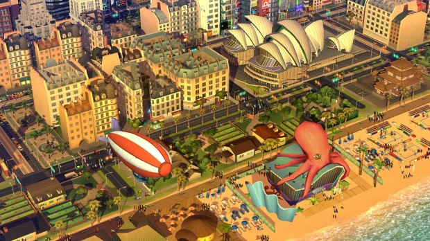 Ooh, tentacles! I might have to download Sim City BuildIt on my phone...