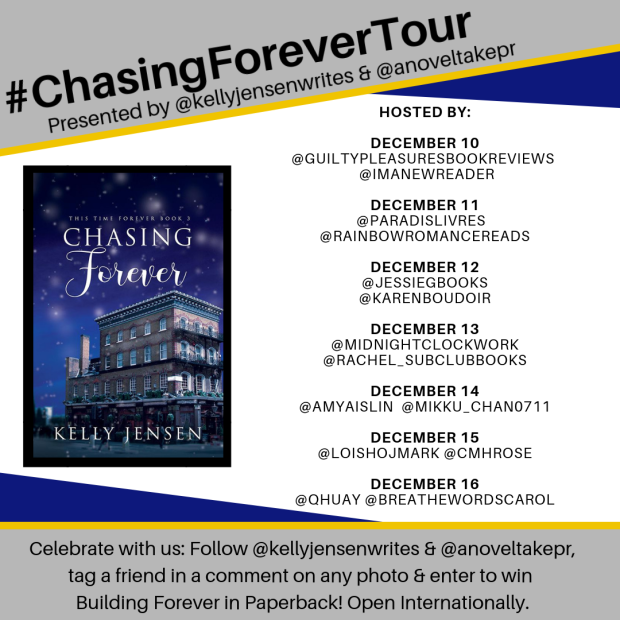 #ChasingForeverTour Graphic